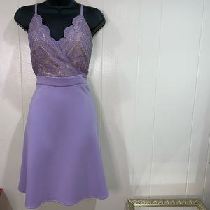 Francesca's Lavender Dress